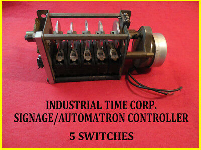 INDUSTRIAL CONTROLLER-SIGHNAGE/AUTOMATRON-with 5 SWITCHES