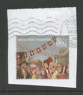 ICELAND 2014  180KR TOWN FESTIVAL ON A PIECE,SCOTT  1410, USED (o)