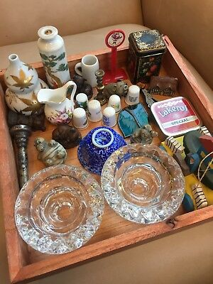 A Selection Joblot Of Thirty Vintage Bits  Pieces Collection Resale Items Retro