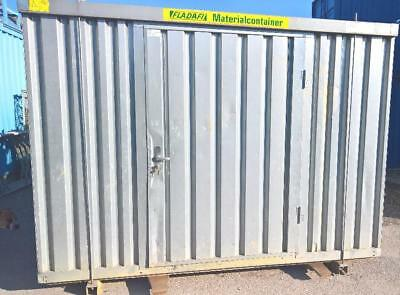 Container  Leichtbau verzinkt  Lagercontainer Blechcontainer  Nr. V8