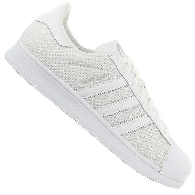 on sale d7e31 b1187 Adidas Originals Superstar Bambas de Hombre S75962 Clean Blanco 46