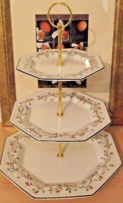 Johnson Brothers Eternal Beau Large 3 Tier Cake stand b