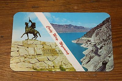 Vintage Postcard Cody Wyoming Is The Beginning Of Cody Way Into Yellowstone Park