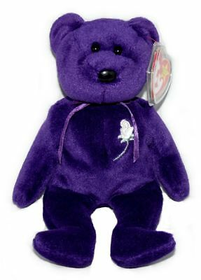 12a11aaa621 Princess Diana Di Ty Beanie Baby 2nd Edition Space Mint PE Pellets China  1997