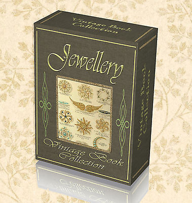 122 Vintage Jewellery  Books on DVD - Make Design Gold Silver Smith Guides 278