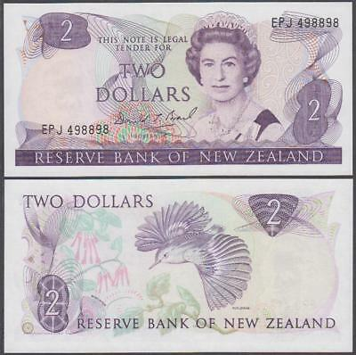 ND (1981-89) Reserve Bank of New Zealand 2 Dollar (CU)