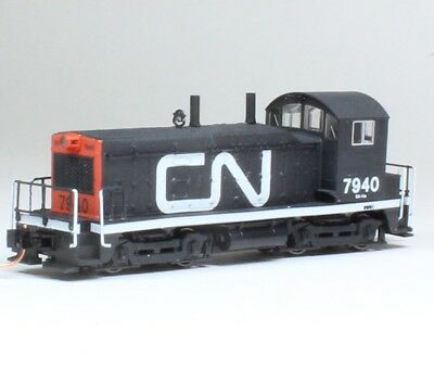 Custom painted KATO N NW2 Canadian National CN 7940