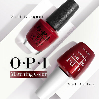 OPI Matching GelColor + Lacquer Nail Polish 0.5oz *Choose Any Set* Pack II