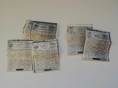15 WWII V-Mails Letters 1728th Engineers Toledo Ohio Lot World War Two Old WW2