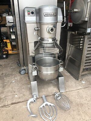 Hobart HSM30 Dough Mixer Plantery Heavy Duty Catering 30qt Hook Paddle Whisk
