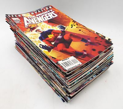 51 x AVENGERS and Other MARVEL Comic Books 2000s Vintage SECRET INVASION - W44