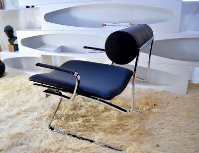 JOE COLOMBO CRICKET LOUNGE CHAIR made in Italy