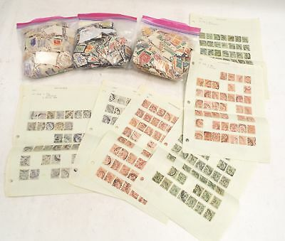 Large Collection of Various World Antique & Vintage World Postage STAMPS  - W20