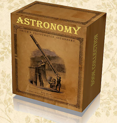 250 Rare Vintage Astronomy Telescope Books on DVDs - Astronomer Stars Planets 62