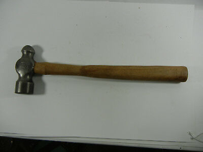Vintage BLACKSMITHS PLUMB BALL PEEN Hammer 1lb 7oz Machinist / Mechanics H31