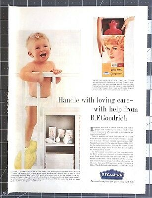 Life Magazine Ad B.F. GOODRICH Personal comforts for your good rich life