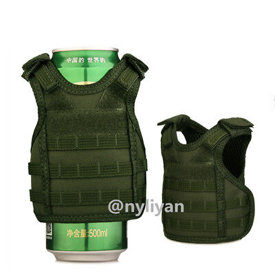 Military Vest Wine Soda Beer Bottle Coozie Coolie Koozie Coolers Cover Mello #G