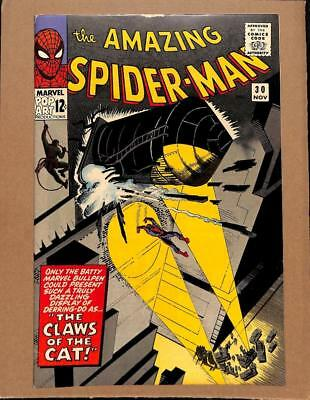 Amazing Spider-Man #30 - HIGH GRADE - MARVEL 1965 - Claws of The Cat!
