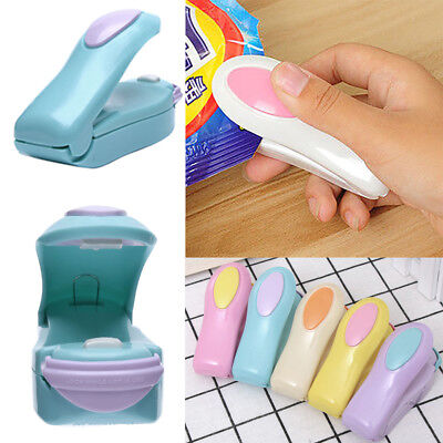 Random Color Small Mini Heat Sealer Sealing Machine Kitchen Candy Food Crisp Bag