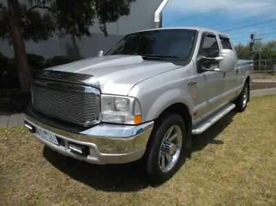 2006 Ford F250 RN XLT Silver Automatic 4sp A Crew Cab Pickup
