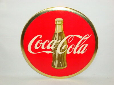 Nice Old Button Easel Back Celluloid Coca Cola Brand Soda Advertising Sign