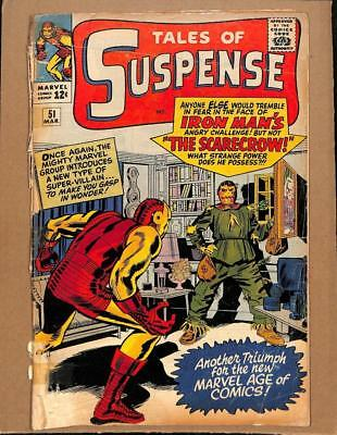 Tales of Suspense #51 MARVEL 1964 - 1st app The Scarecrow!