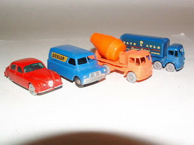 1960s LESNEY MATCHBOX TOY ( GRAY WHEEL ) VEHICLES ALL MINTY CONDITION  # 12