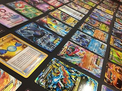 Pokemon 100 Card Lot - GUARANTEED 2 EX / GX & 1 Pack - Great XMAS Gift!