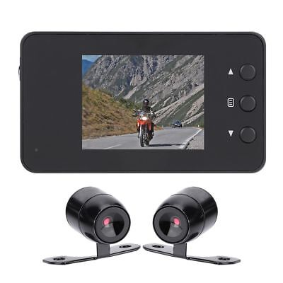 Action Camera 1080P 3.0inch LCD Motorcycle Camera Video Recorder 2x3.5inch