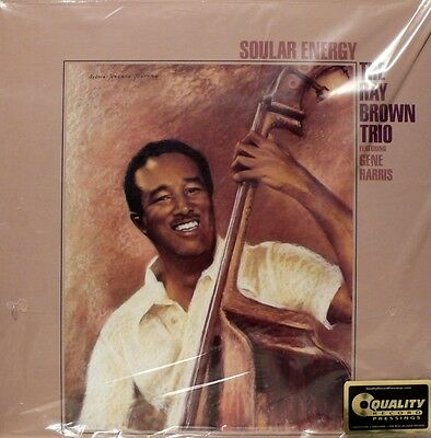 RAY BROWN  SOULAR ENERGY ANALOGUE PRODUCTIONS  APJ-268-45   2LP 45rpm