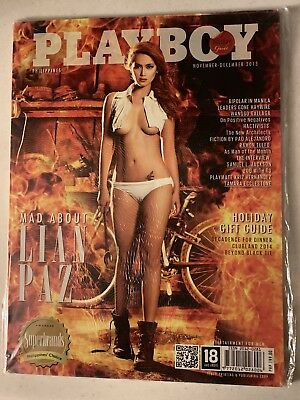 Philippines Playboy Magazine - Nov/Dec 2013 *Lian Paz*