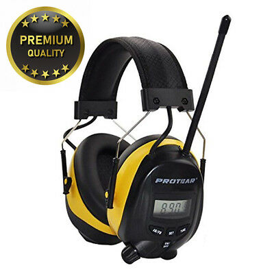FM/AM Radio Noise Reduction Headset,Protear Ear Defenders with Stereo...
