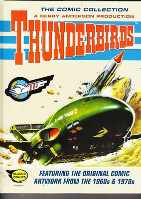 Thunderbirds  The Comic Collection   288 Pages   Heavy Book    Egmont