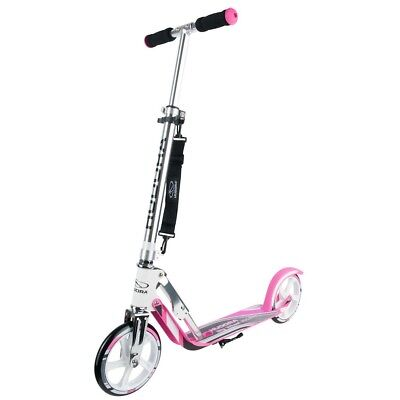 Hudora Big Wheel 205 Roller RX-Pro 205 Scooter weiss pink
