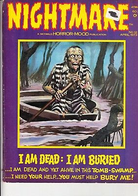 Nightmare      No 12  April 1973     Skywald Publishing