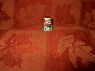 multi colored design thimble