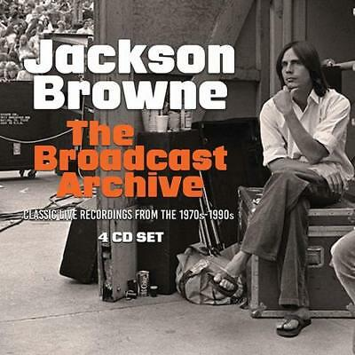 Jackson Browne : The Broadcast Archive CD Box Set 4 discs (2018) ***NEW***