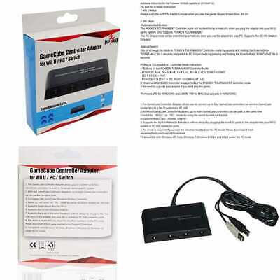 Mayflash Gamecube Controller Adapter For Wii U PC USB & Switch 4 Port 1 Pack