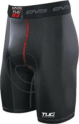 EVS 812505-0117 Youth Vented Riding Shorts 24-26in. - Md Black Youth Medium