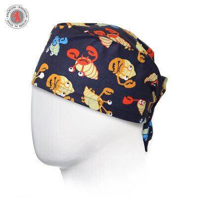 "OP-Haube / Surgical Cap XL ""Mr. Crab"""