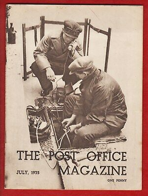 The Post Office Magazine July 1935 – See Description