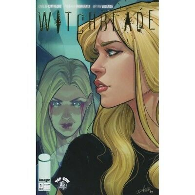 Image Top Cow - Witchblade #1 Gold Foil Retailer Incentive Variant New Nm