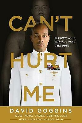 Can't Hurt Me by David Goggins Paperback Book Free Shipping!