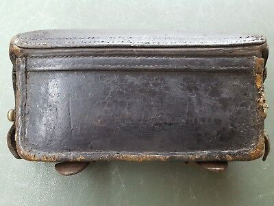 PRE WWI Imperial German Ammo Pouch Model 71 Mauser (Cartridge Box) 71/84