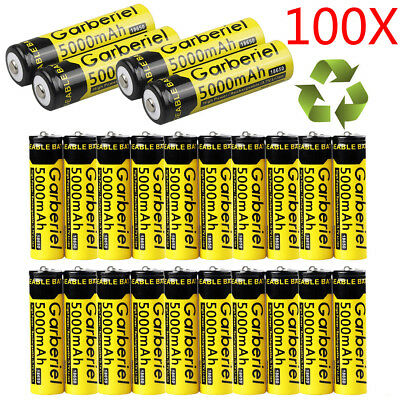 Lot 5000mAh 3.7V Li-Ion 18650 Rechargeable Battery for Flashlight Torch