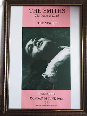 The Smiths - The Queen is Dead Advert (framed) EX (A4)