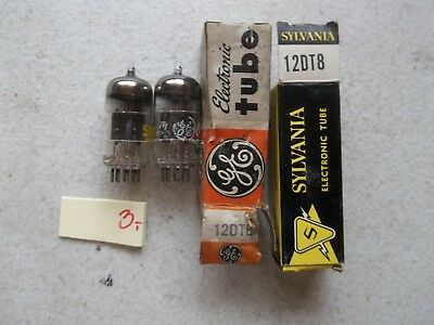 Lot Of 2 New In Box Assorted Electronic Tube 12Dt8 (334)