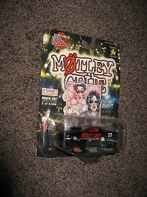 Mötley Crüe Racing Champions Too Fast For Love Dragster Limited Edition MOC 1:64