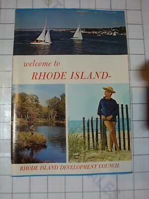 Welcome to Rhode Island RI Development Council 1970 tourism promo ad booklet