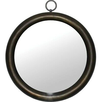 Ren-Wil Raye Mirror, Antique Brass - MT2165
